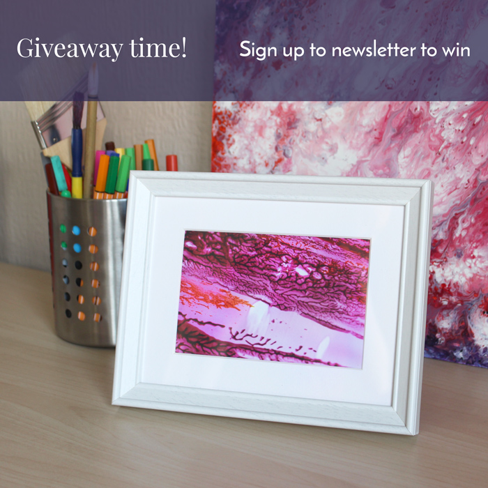GIVEAWAY TIME! WIN A SMALL FRAMED ART PRINT, SIGN UP TO NEWSLETTER ...